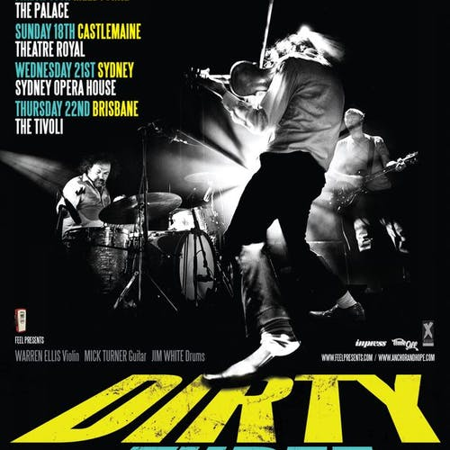 Dirty Three March 2012 Tour